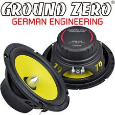 Ground Zero GZTK165 16,5cm Kickbass Auto Lautsprecher Tieftöner 165mm ink Gitter