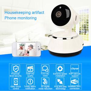 Indoor WiFi PTZ 720P HD Security Camera Wireless IP IR Camera