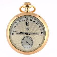 Mechanische (Handaufzug) Taschenuhren mit Chronograph