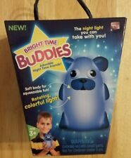 BRIGHT TIME BUDDIES - DOG - THE NIGHT LIGHT YOU CAN TAKE WITH YOU - NWT