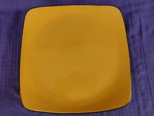 Corelle Hearthstone Tumeric Yellow SQUARE DINNER PLATE