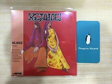 Rejoice - Rejoice Remastered LP Miniature 1CD KOREA EDITION SEALED