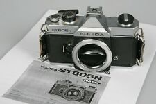 FUJICA ST 605N 35mm SLR Film Camera Body Only Tested Meter Working w/Manual
