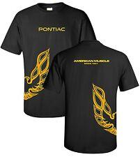 American Muscle Car Pontiac Firebird Trans Am Emblem Logo Underwrap T-shirt XL