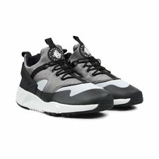NIKE AIR HUARACHE UTILITY TRAINERS, UK9, BASE GREY/LIGHT ASH GREY, 806807003