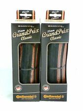 Continental Grand Prix Classic Pair 700x25 Bicycle Tires