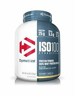 Dymatize ISO 100 Whey Protein Powder Isolate 5 lbs Gourmet Vanilla 0% TAX