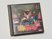 PlayStation 1 Bokan to Ippatsu! Doronboo Japan PS1 game US Seller