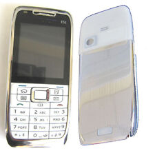Housing Rear Back Door Battery Cover Screen Lens Keypad For Nokia E51 Silver
