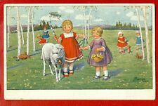 CHILDREN BY KRANZLE WIEN VINTAGE POSTCARD 549