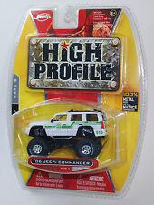 Jada HIGH PROFILE '06 JEEP COMMANDER BORDER PATROL #064 WAVE 6 1/64 RARE