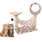 "M47 23"" Cat Tree Tower Condo Scratcher Furniture Kitten Pet Toy House Hammock"