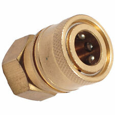 "1/4"" BSP Female Pressure Washer Brass Mini 11.6mm Quick Release Socket Coupling"