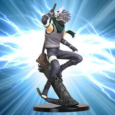 "GEM Anbu 9"" Hatake Kakashi Naruto Shippuden PVC Action Figure Statue Model NIB"