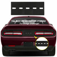 Car Rear Tail Box Decal Cover Truck Trim Bezels for Dodge Challenger 2015-2019