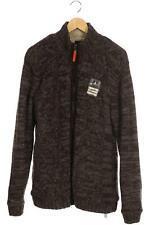 Gaastra Strickjacke Herren Cardigan Jacke Gr. XL Wolle grau #a0c3af4