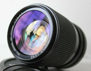 Yashica ML 35-105mm f3.5-4.5 Wide Angle Manual Zoom Lens Contax  C/Y Mount