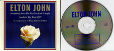 ELTON JOHN - Candle In The Wind 1997 (in Memory of Diana)  CD Single  UNGESPIELT
