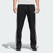 Adidas Essentials 3 Stripe Regular Fit Fleece Pants Mens Large Black