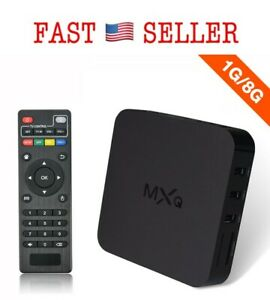 MXQ Android 4.2 TV Box Amlogic S805 Quad Core 1G8G UltrHD 1080P 2.4GHz WiFi -NEW