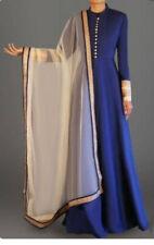 Indian Pakistani Designer Ethnic Western Clothing Women Designer Gown Dress New