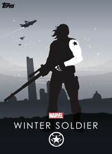 Topps Marvel Collect - Heroic Silhouettes WINTER SOLDIER Composition *Digital