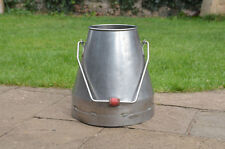 stainless steel milk churn milkchurn milking pot / plant pot - FREE DELIVERY