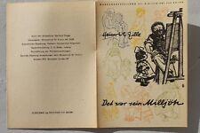 28479Prospekt Wander Ausstellung Heinrich Zille Det war sein Milljöh 1957 Berlin