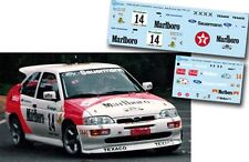 Decal 1:43 Gregorio Picar - FORD ESCORT COSWORTH - Rally El Corte Ingles 1993
