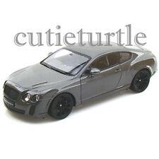Welly Bentley Continental Super Sports 1:24 Diecast Model Car 24018 Grey