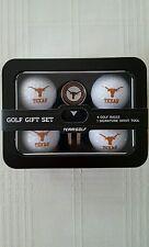 Texas Longhorns Golf Ball / Divot Tool with Ball Marker NCAA Gift Set