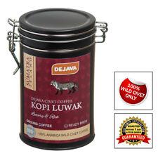 100% SUMATRA WILD CIVET CAT COFFEE KOPI LUWAK - GIFT SET 50g FRESHLY GROUND