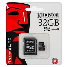 KINGSTON 32GB Micro SD SDHC Clase 10 32 GB Lona seleccionar + Adaptador 80MBS!!!