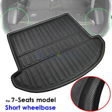 For Santa Fe Dm 7 Seats 2013-2018 Boot Cargo Liner Trunk Mat Floor Tray Carpet