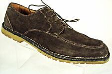 Florsheim Oxford Mens Size 10 D  Brown Leather Suede Bio Comfort Shoes Moc Toe