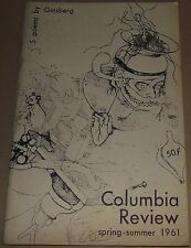 """ALLEN GINSBERG- """"5 EARLY POEMS""""- COLUMBIA REVIEW spring-summer 1961- VERY RARE"""