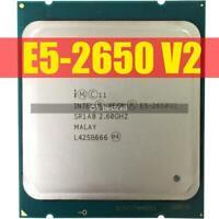 For Intel Xeon E5-2650 V2 SR1A8 2.6 GHz 8 Core LGA 2011 CPU Desktop Processor
