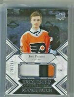 Joel Farabee 2019-20 Upper Deck Exquisite Collection Rookie Patch 139/299