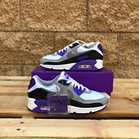 NIKE AIR MAX 90 WMNS WHITE/GREY/PURPLE LIFESTYLE SNEAKER CD0490-103