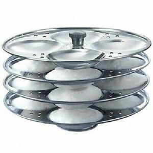 Idli Maker Stand Steel Sainless Steel Cooker 4 Plates