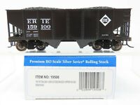 HO Scale Bachmann Silver Series 19508 Erie 55 Ton 2-Bay USRA Hopper #159100