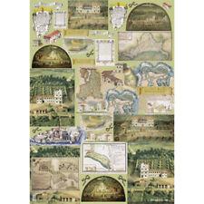 Papier de découpage Agriculture médiévale DFG177 Decoupage Paper Farming