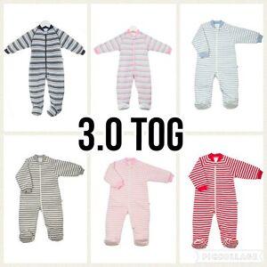 uh-oh 3 tog BUGGY Sleeping BAG Winter Kids Sleepsuit Baby Toddler Size 0 1 2 3 4