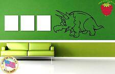 Wall Stickers Vinyl Decal Nursery Funny Dinosaur Animals For Kids ig805