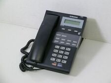 Samsung iDCS 8D Falcon Business Phone Black Good Condition #Q20