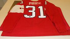 Equipo de Canadá 2014 Carey Precio Firmado Juegos Olímpicos de Invierno Rojo Camiseta Hockey Pro