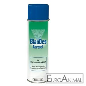 BlauDes - Blauspray - Desinfektionspray - 500ml Dose - Sprühdose - Blau Des