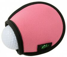 New PINK Green Go Golf Ball Washer Pocket Ball Washer
