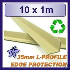 Cardboard Edge Protector 35mm x 35mm L Profile  10 x 1m Length