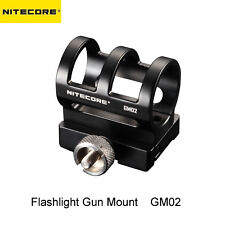 Nitecore GM02 Flashlight Gun Mount for SRT6 SRT7 MT2C MT25 MT26 MT40 MH25 MH40